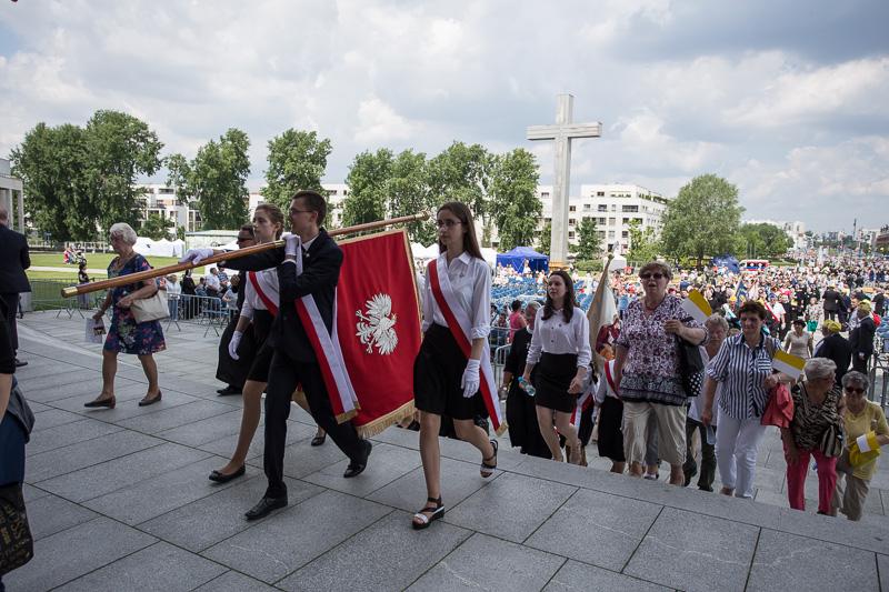 Wprowadzenie relikwii bł. Franciszki Siedliskiej do Świątyni Opatrzności Bożej w Warszawie - zdjęcie 1