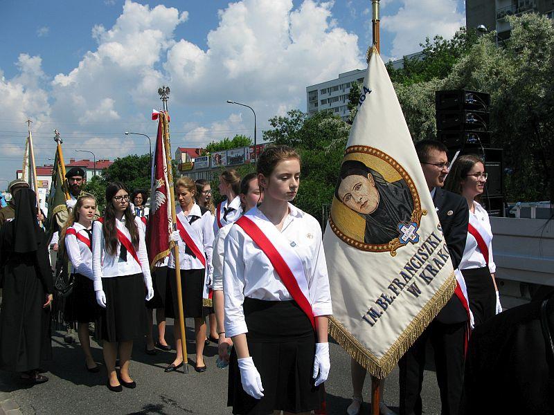 Wprowadzenie relikwii bł. Franciszki Siedliskiej do Świątyni Opatrzności Bożej w Warszawie - zdjęcie 5