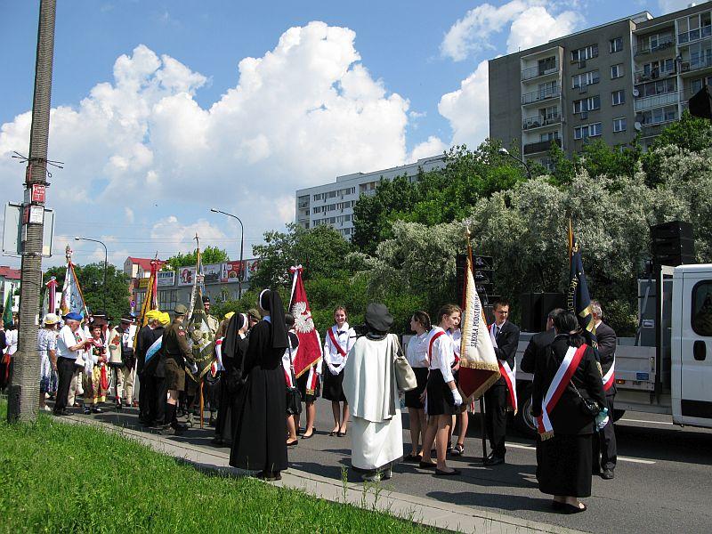 Wprowadzenie relikwii bł. Franciszki Siedliskiej do Świątyni Opatrzności Bożej w Warszawie - zdjęcie 6
