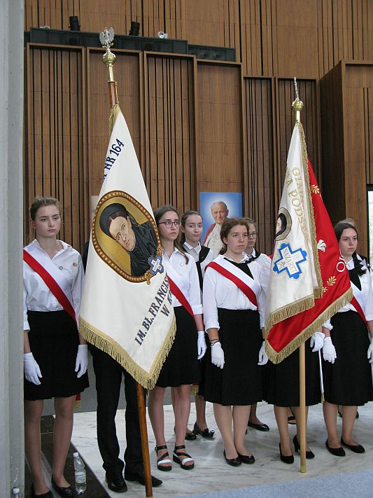 Wprowadzenie relikwii bł. Franciszki Siedliskiej do Świątyni Opatrzności Bożej w Warszawie - zdjęcie 8