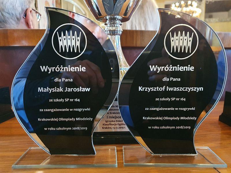 Krakowska Olimpiada Młodzieży-Igrzyska Dzieci 2019 - zdjęcie 1