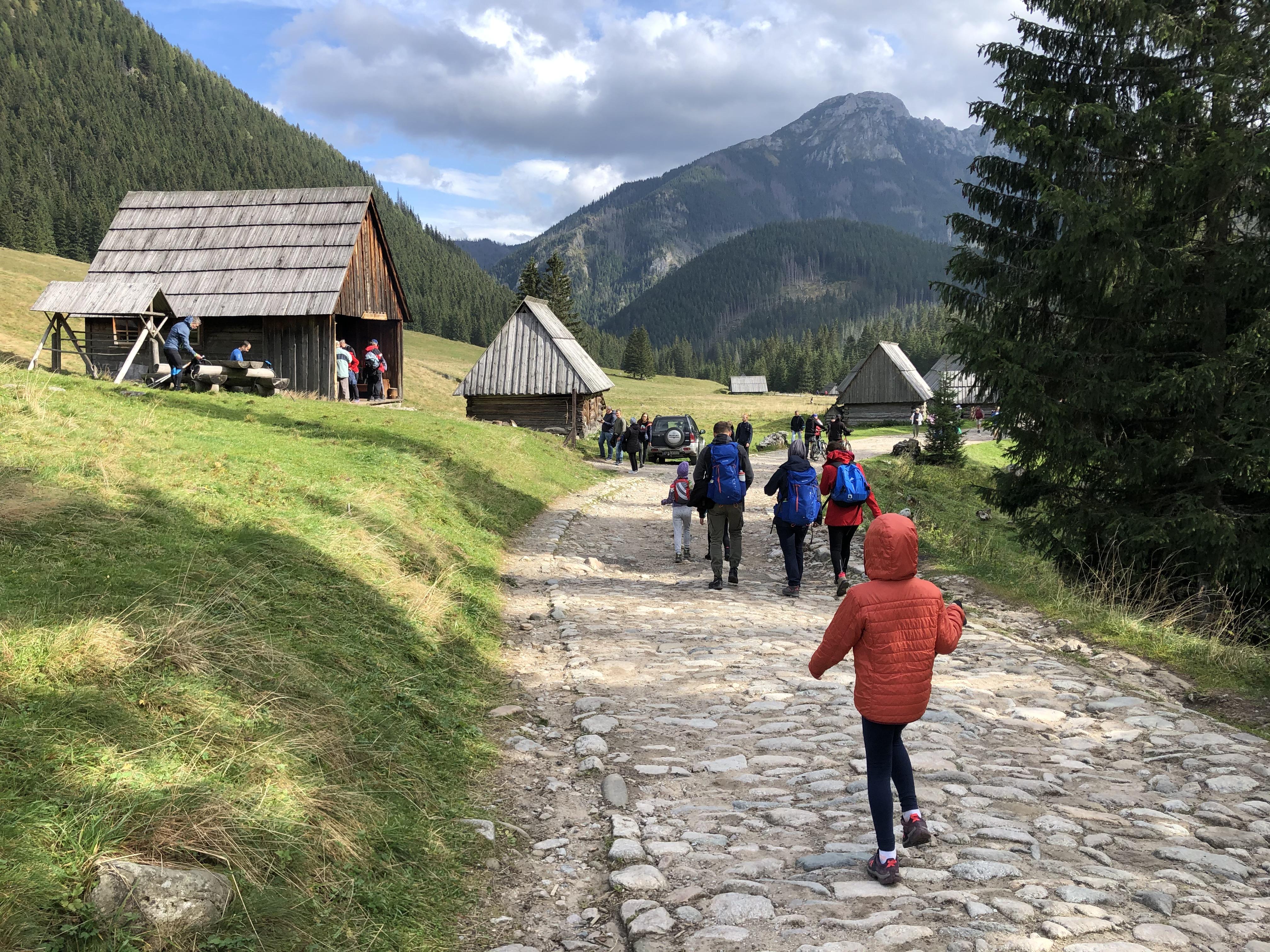 Koło Turystyczne w Dolinie chochołowskiej - zdjęcie 4