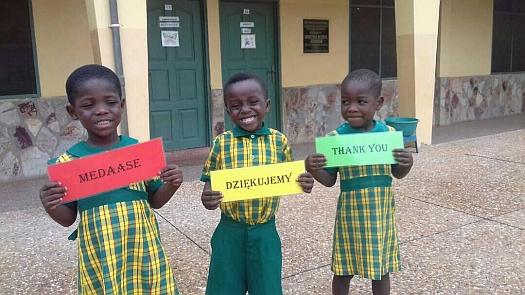 Ghana - podziękowania 2018