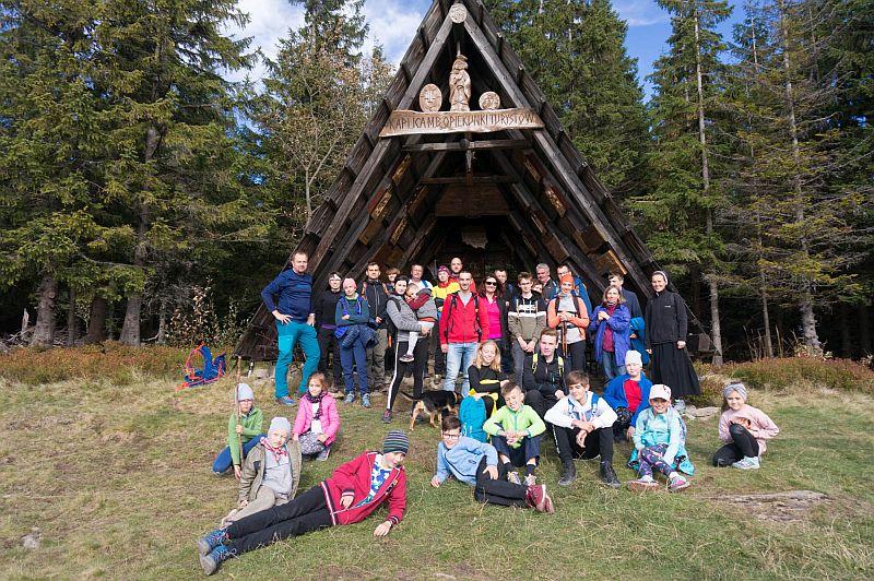 Drugie wyjście Koła Turystycznego – jesienna Hala Krupowa - zdjęcie 12