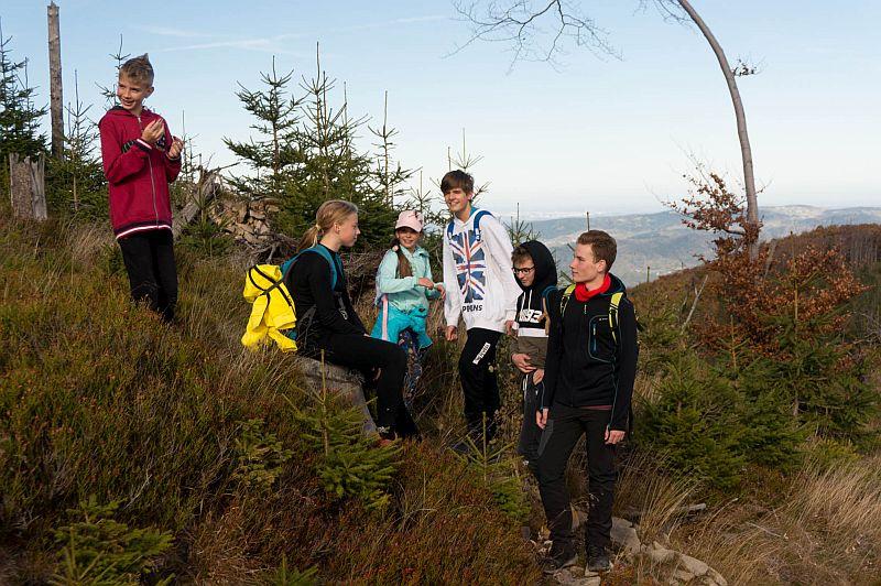 Drugie wyjście Koła Turystycznego – jesienna Hala Krupowa - zdjęcie 13
