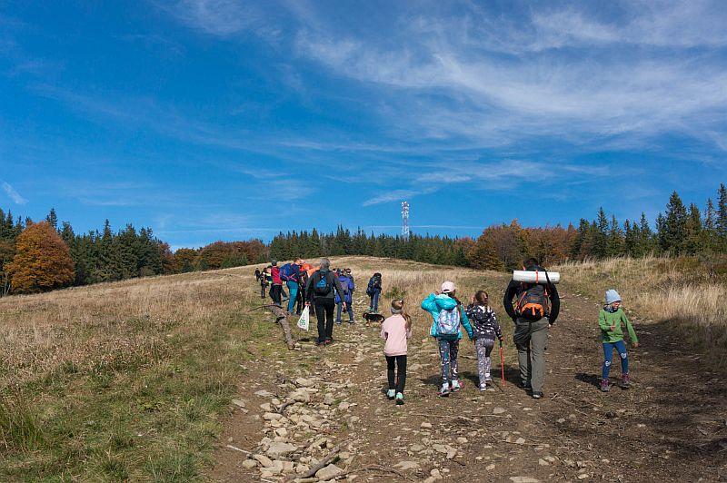 Drugie wyjście Koła Turystycznego – jesienna Hala Krupowa - zdjęcie 3