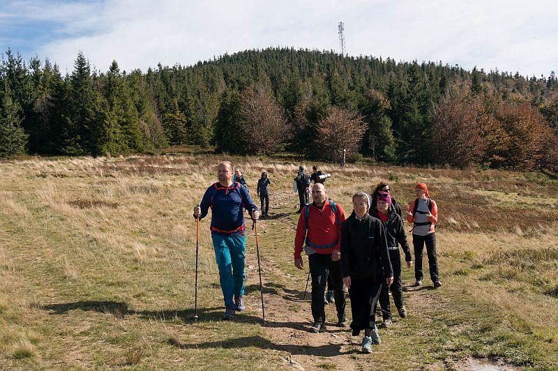 Drugie wyjście Koła Turystycznego – jesienna Hala Krupowa - zdjęcie 6
