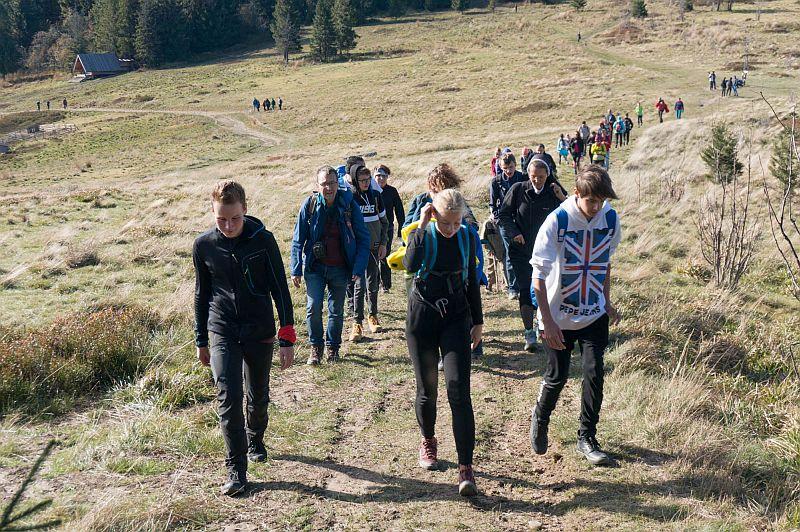 Drugie wyjście Koła Turystycznego – jesienna Hala Krupowa - zdjęcie 9