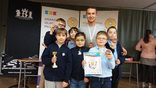 Krakowska Olimpiada Młodzieży – Igrzyska Dzieci w Szachach 2017