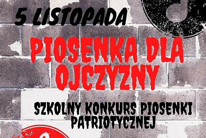 Szkolny Konkurs Pieśni Patriotycznej 2021
