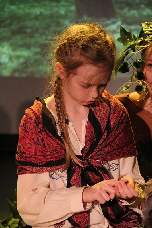 Koło teatralno-artystyczne klas II i III - zdjęcie 23