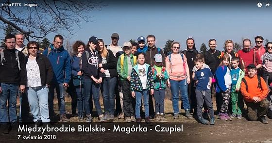 Wspomnienia z wyjścia koła turystycznego na Magurkę Wilkowicką