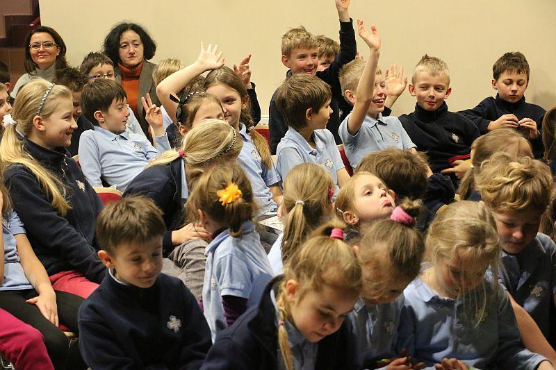Michał Rusinek gościem w naszej szkole - zdjęcie 10