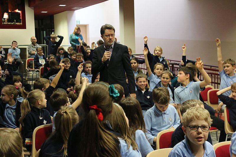 Michał Rusinek gościem w naszej szkole - zdjęcie 12