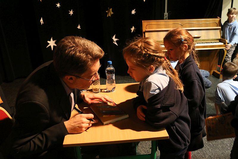 Michał Rusinek gościem w naszej szkole - zdjęcie 22