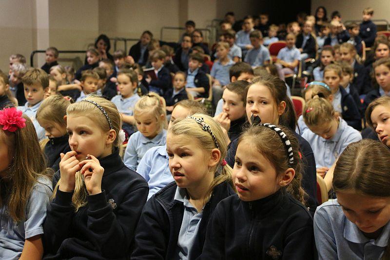 Michał Rusinek gościem w naszej szkole - zdjęcie 3