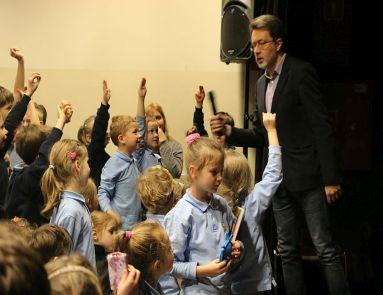 Michał Rusinek gościem w naszej szkole