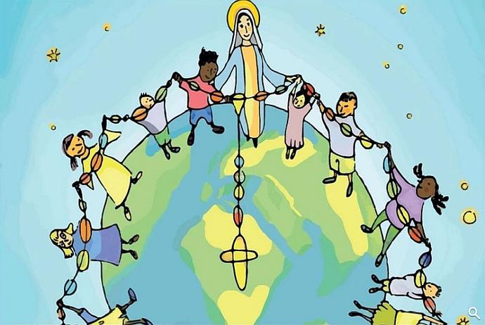 Milion dzieci modli się na różańcu o pokój na świecie.