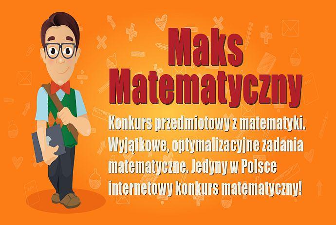 """Wyniki matematycznego konkursu """"Maks Matematyczny"""" 2020"""