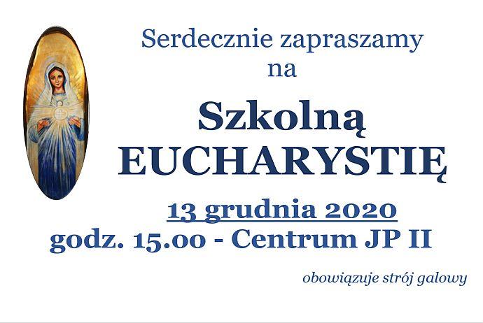 Szkolna Eucharystia 13 XII