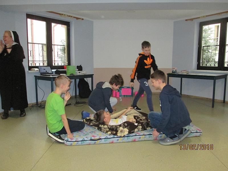 Rekolekcje w Olsztynie - ferie 2018 - zdjęcie 21