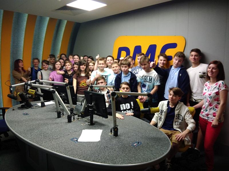 Wizyta w RMF FM 7a 2018 - zdjęcie 12