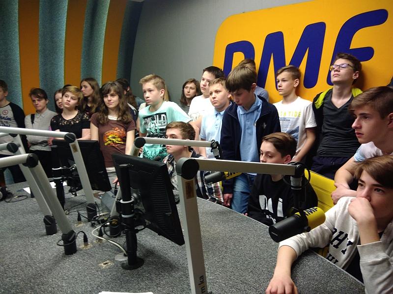 Wizyta w RMF FM 7a 2018 - zdjęcie 14