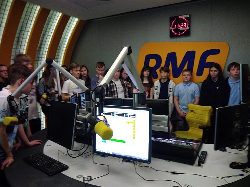 Wizyta w RMF FM 7a 2018 - zdjęcie 15