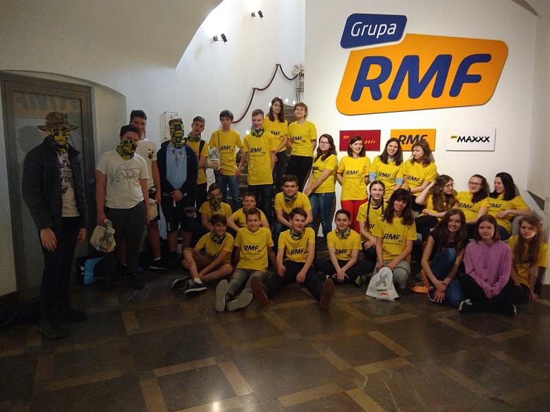 Wizyta w RMF FM 7a 2018 - zdjęcie 17