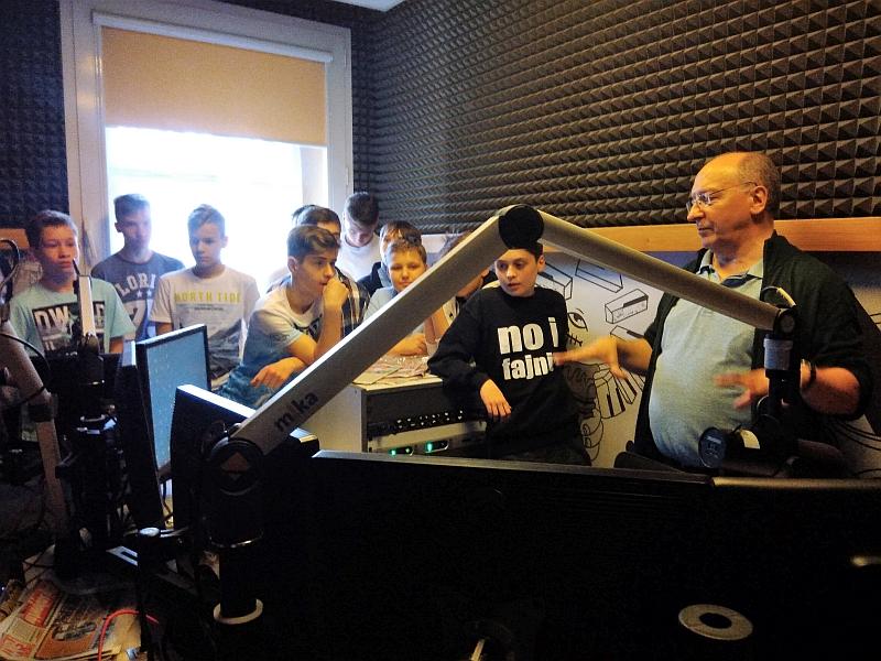 Wizyta w RMF FM 7a 2018 - zdjęcie 9