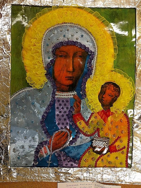 Suknia dla Maryi - votum mojej rodziny - zdjęcie 4