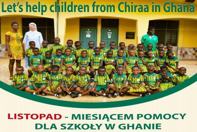 LISTOPAD - miesiącem pomocy dla szkoły w Ghanie