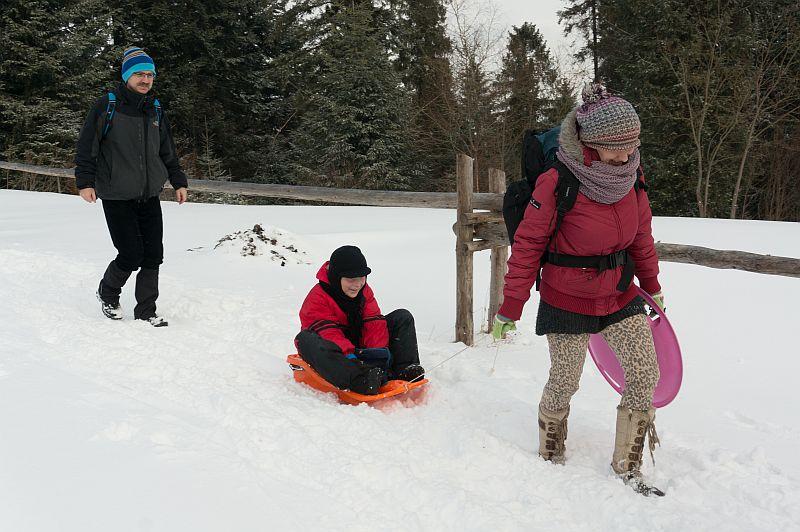 Zimowe wyjście Koła turystycznego 2016 - zdjęcie 3