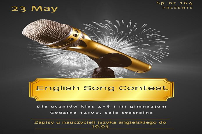 English Song Contest - news