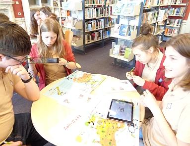 Interaktywne warsztaty w bibliotece Instytutu Goethego