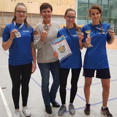 badminton drużynowy dziewczęta 2017