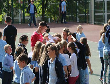 Klub sportowy Cracovia w naszej szkole