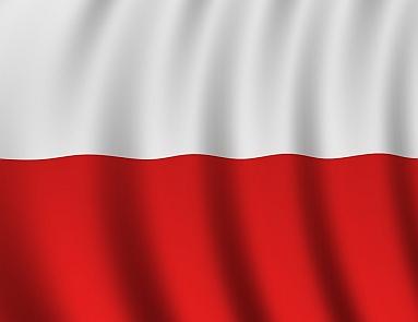 flaga Polski mini