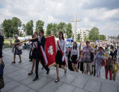 Wprowadzenie relikwii bł. Franciszki Siedliskiej do Świątyni Opatrzności Bożej w Warszawie
