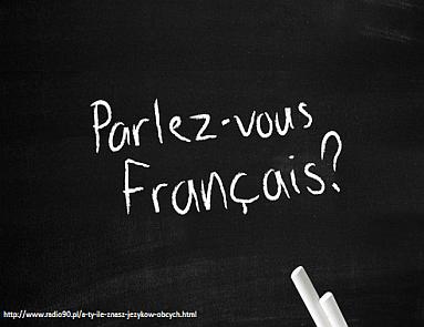 język francuski mini