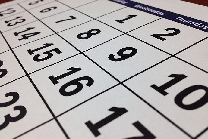 kalendarz - news