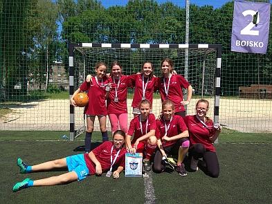 Krakowska Olimpiada Młodzieży - piłka nożna dziewczyn