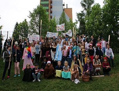 Parada postaci literackich 2018